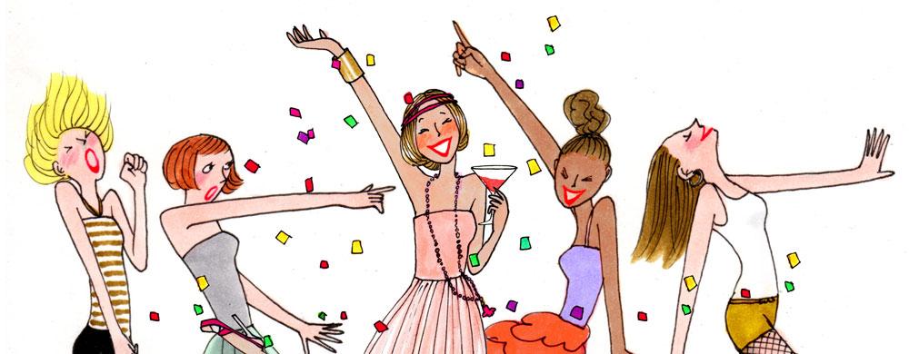 Danse domicile insolite my little paris for Repas entre copines pas cher